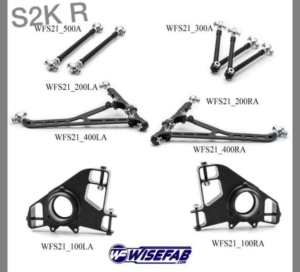 Wisefab Honda S2000 Suspension