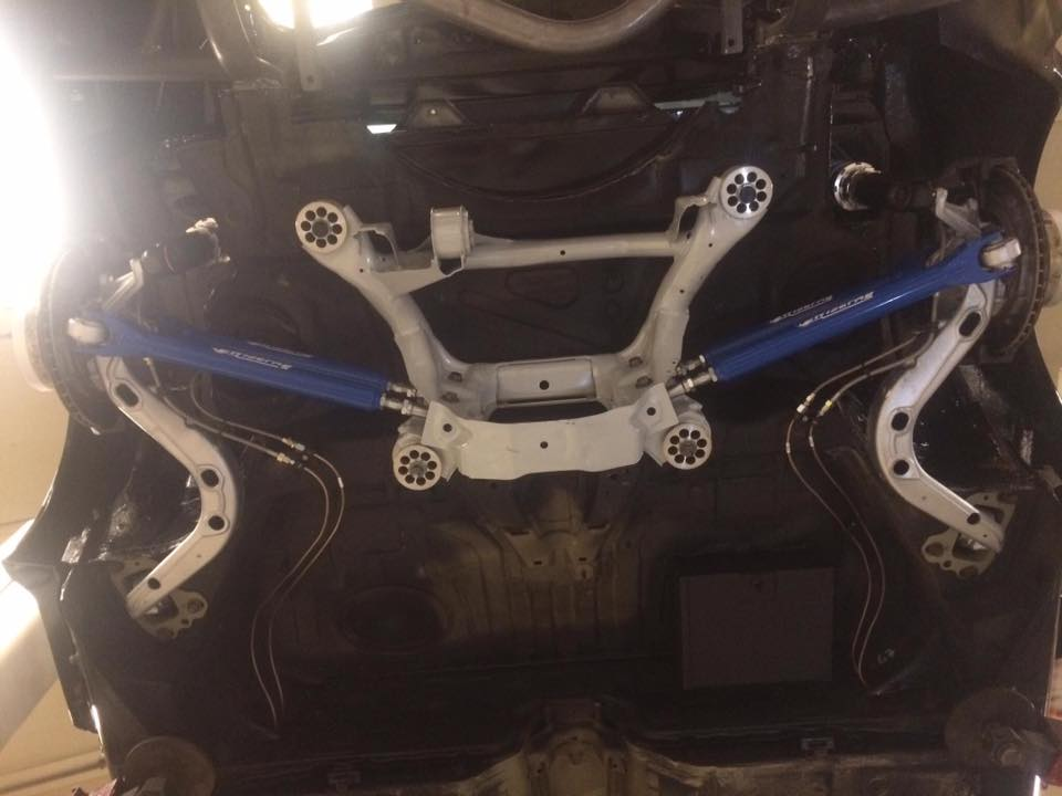 Wisefab Adjustable Rear Arms E36 E46 - Einzel Automotive Drifting and Racing