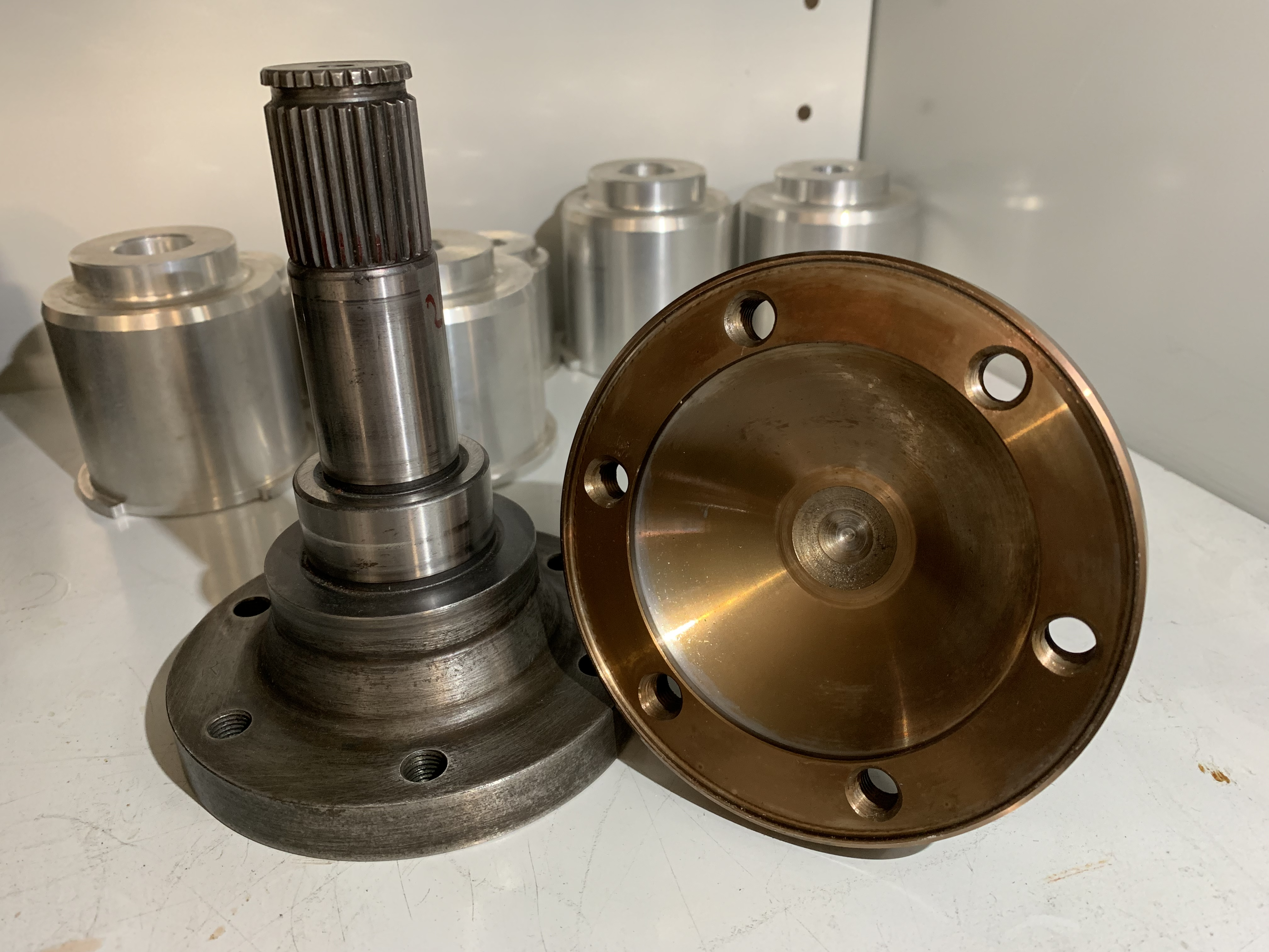 FORD Rallye / Race big diff Flange 800Nm
