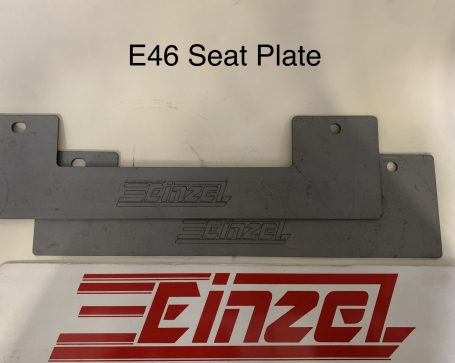 E46 Seat Plates (move seat to tunnel)