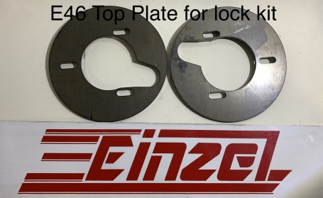 E46 Lock Kit Top Plate Set