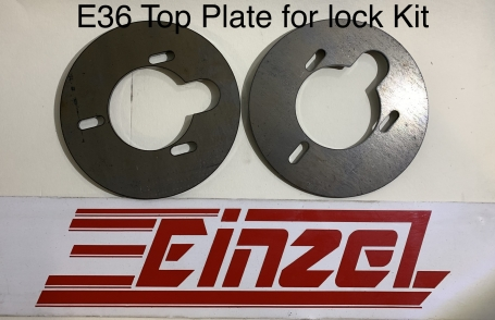 E36 Lock Kit Top Plate Set