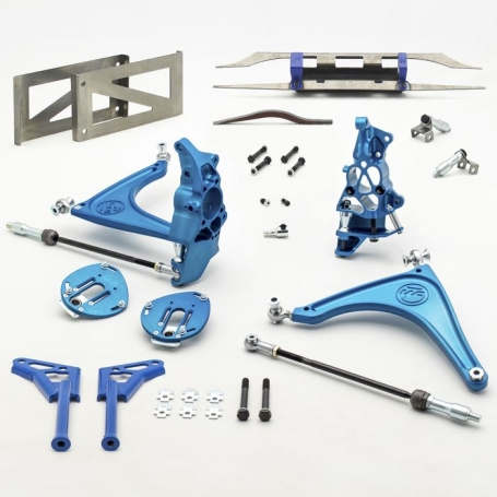 Wisefab Toyota GT86 Lock Kit using Lexus IS Rear Rack